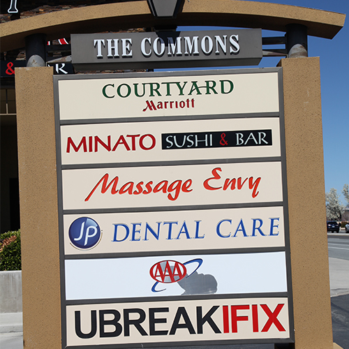 JP Dental Care outside sign
